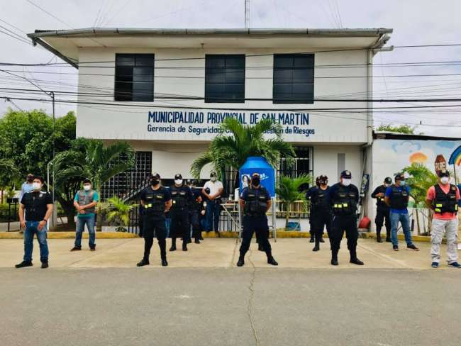 Aprueban convenio interinstitucional para implementación de seguridad ciudadana en Tarapoto