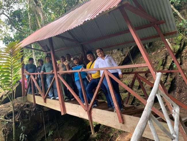 Mejoran accesibilidad e infraestructura de cascadas Lejiayacu y Paccha en Jepelacio