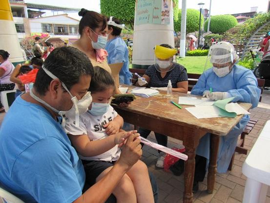Moyobamba y Rioja desarrollan campaña de Vacunación