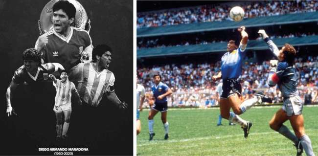 #DiegoMaradona10#RebeleDeLaPelota Diego, el rebelde…