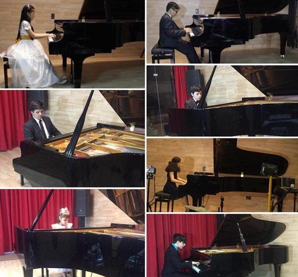 Estudiantes de la Escuela de Música IBP ganan 08 premios en concurso nacional de piano