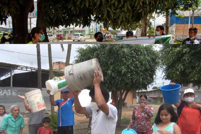 Población se organiza para protestar contra la OTASS