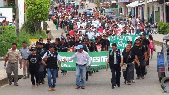 Movilización de Rondas Campesinas en todo el país