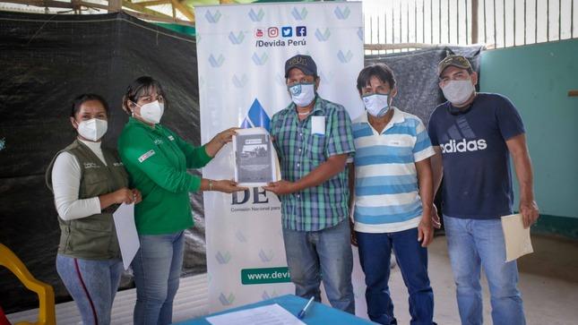 Devida inicia obras de mantenimiento de infraestructura en los caseríos de la región San Martín