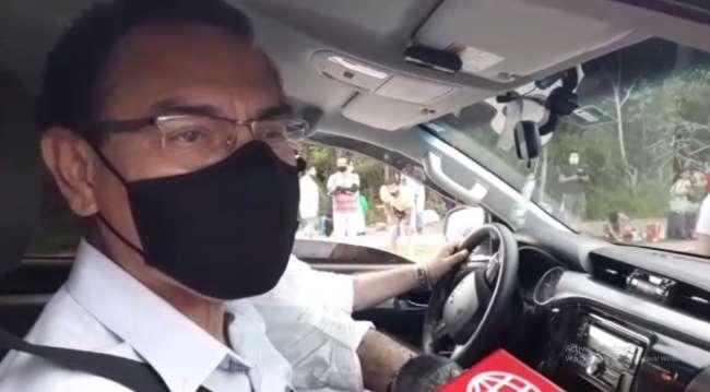 Expresidente de la República Martín Vizcarra llega a Tarapoto a realizar  actividades proselitistas