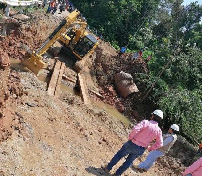 GORESAM atiende emergencia en el Bajo Huallaga