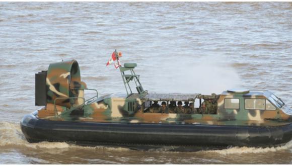 Tres embarcaciones de la Marina de Guerra fueron atacadas por presuntos delincuentes narcoterroristas