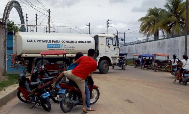 Congresista Geovanni Acate propondrá declarar de necesidad pública la integración vial con rutas y conexiones alternas a Alto Amazonas  Peligran atenciones básicas en Salud