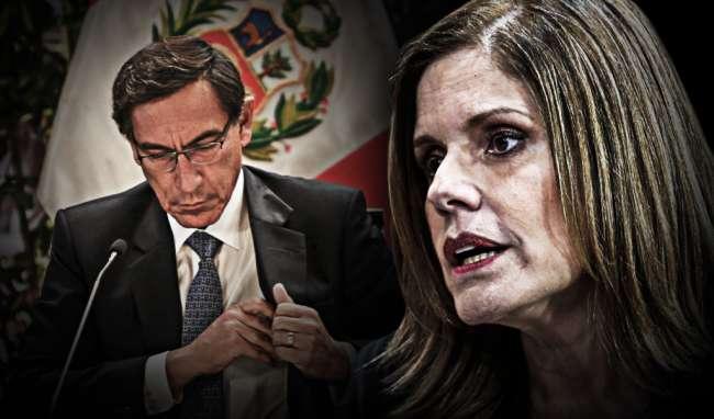 """Mercedes Aráoz: """"El Congreso le hace un favor a Vizcarra haciéndole parecer como una víctima"""""""