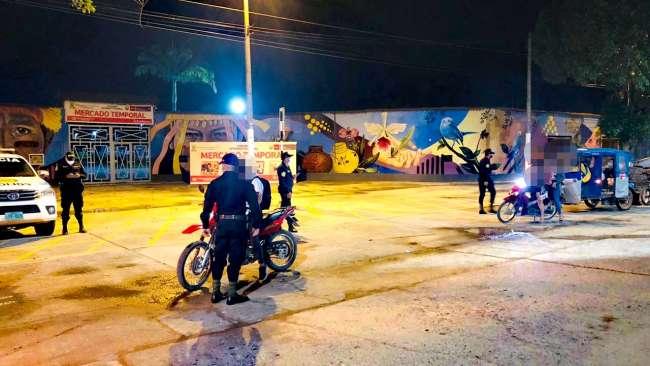 Fiscalía refuerza acciones preventivas en zonas de mayor afluencia nocturna en Moyobamba