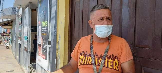 Conductor de vehículo denuncia supuesto maltrato en las oficinas de la SUNARP de Tarapoto