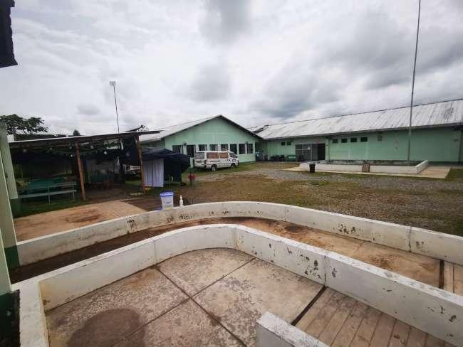 Hospital de contingencia de Saposoa reanudó atención tras soportar lluvias intensas