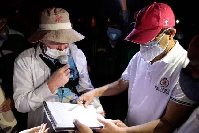 """En Moyobamba: """"El paro fue contundente"""""""