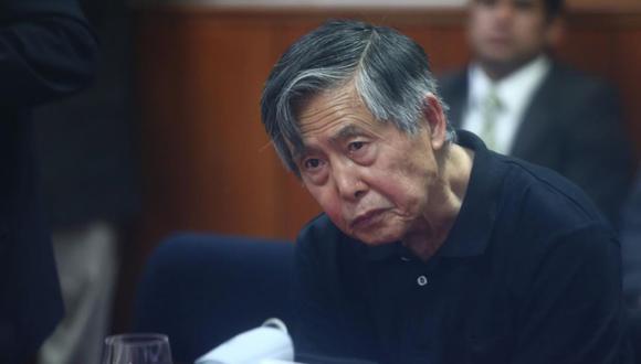 """Alberto Fujimori """"se  encuentra descompensado con una saturación del 89%"""""""