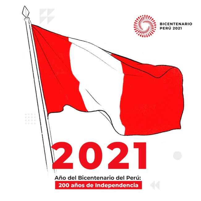 """Poder Ejecutivo oficializa el 2021 como el """"Año del Bicentenario del Perú: 200 años de Independencia"""""""