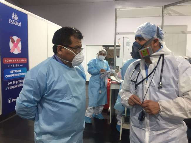 EsSalud Huánuco: aumentan ingresos de  pacientes menores de 40 años con Coronavirus