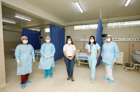 Personal de salud del hospital de la banda de shilcayo
