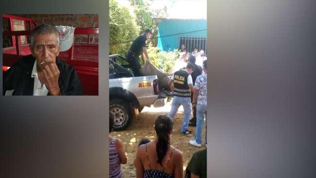 Anciano de 86 años de edad es asesinado de varios golpes en la cabeza en La Banda de Shilcayo
