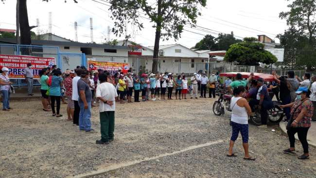 Confirman que hospital Covid de La Banda de Shilcayo será entregado el 15 de enero