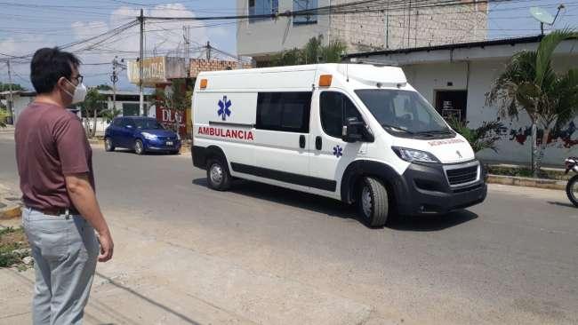 Ambulancia del Hospital II – 2 de  Tarapoto no puede ser utilizada por  estar en proceso de investigación