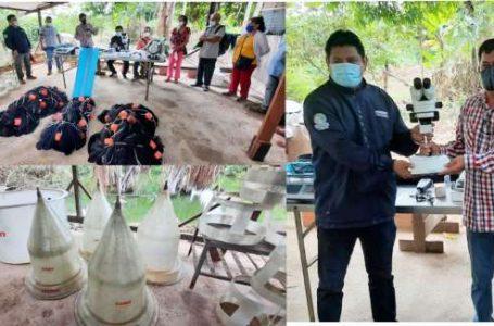 Orcón Fiberglass entrega a DIREPRO equipos de acuicultura para COPESSA Ucayali