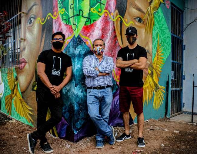 Murales para promover el arte, la cultura y el turismo en San Martín