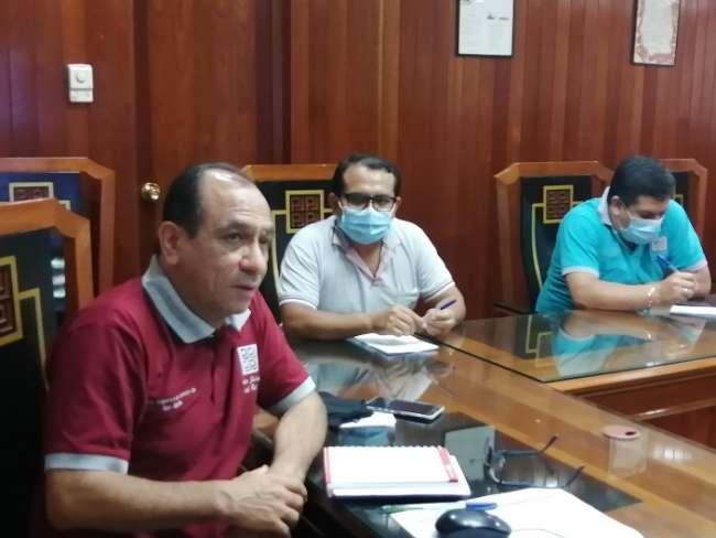 Presidente de la Corte de San Martín sostiene reunión virtual con jueces penales de Tarapoto
