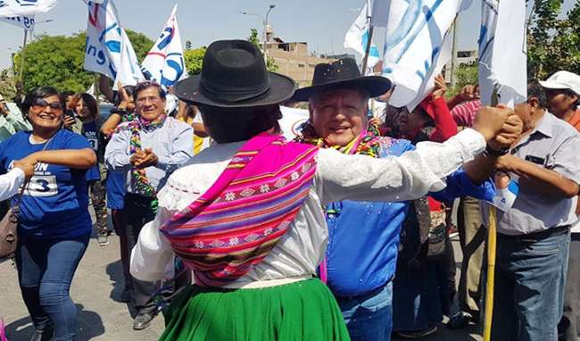 Policía Nacional del Perú hará cumplir medidas de bioseguridad durante campaña electoral