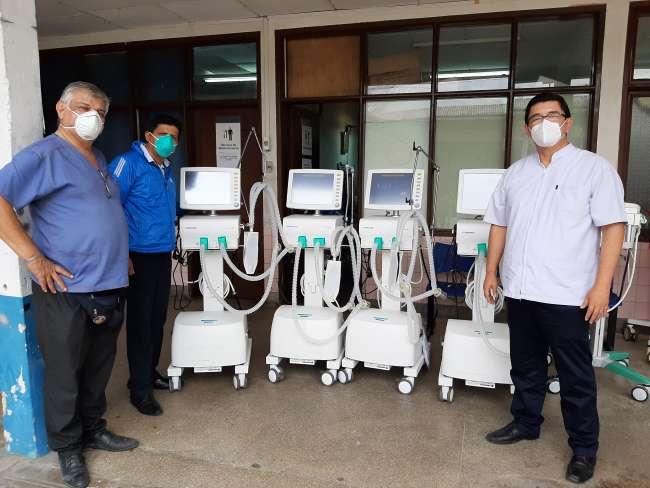 EsSalud Loreto refuerza atención para pacientes  críticos Covid-19 con llegada de nuevos ventiladores mecánicos