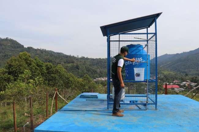 Pobladores se benefician con mantenimiento y recuperación de sistemas de agua