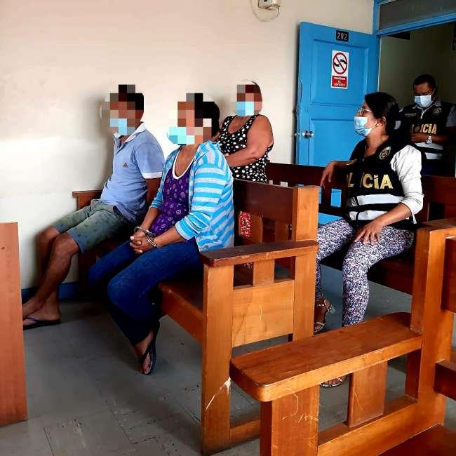 Prisión preventiva por presunto sicariato a dos mujeres y un hombre implicados en asesinato de un adulto mayor