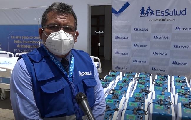 EsSalud envía a Huánuco 50 concentradores de oxígeno y 40 camas para pacientes con Covid-19