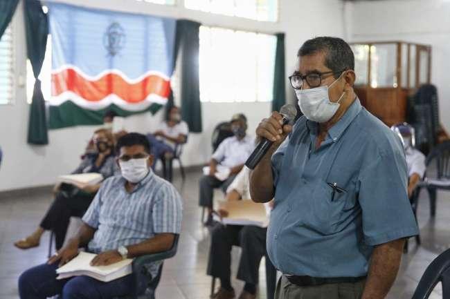FRECIDES: exigirán al Goresam, que cumpla con elaborar estudios para la captación del agua por gravedad desde el Río Mayo