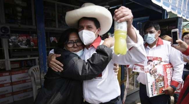Pedro Castillo, primer candidato presidencial en dar positivo a COVID-19