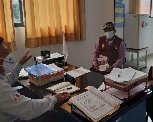 Electro Oriente coordina acciones con autoridades de la Provincia de Picota