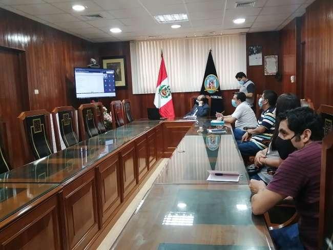 Corte de San Martín exhorta a trabajadores de mesas de partes dar buen trato al usuario