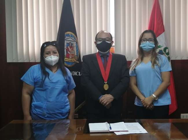 Corte de San Martín y unidad médico legal del Ministerio Público adoptan acuerdos para mejorar atención a usuarios