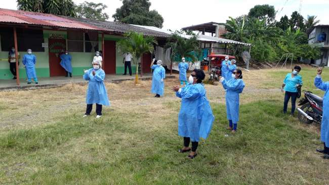 Levantan huelga indefinida en el centro de Salud del distrito de Morales