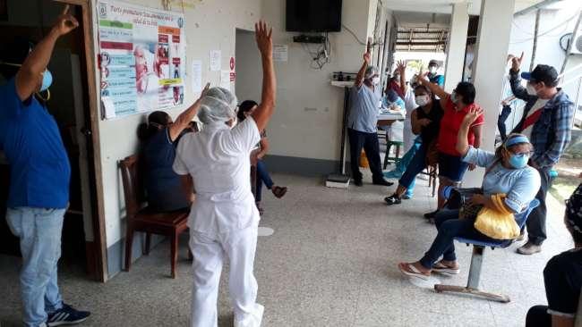 Personal del centro de Salud del distrito de Morales acata desde hoy huelga indefinida