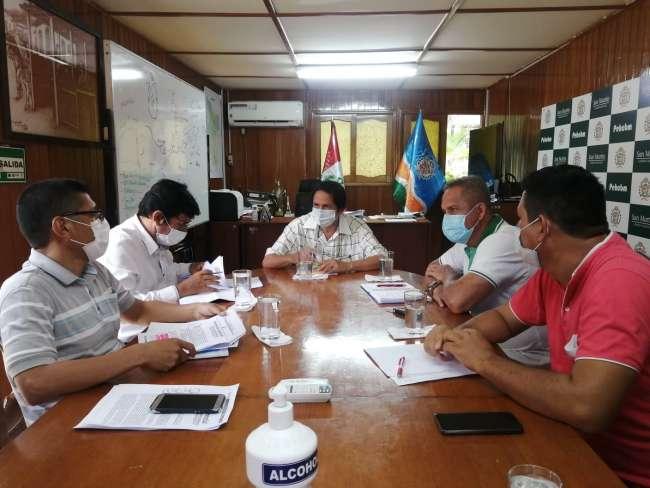 GORESAM elaborará perfil de megaproyecto de agua potable para Tarapoto, Morales y La Banda de Shilcayo