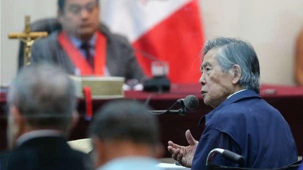 Hoy se reanuda audiencia contra expresidente Alberto Fujimori
