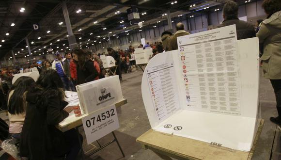 La ONPE aprobó lineamientos para elecciones generales en el extranjero