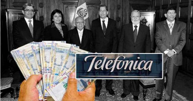 Tribunal Constitucional da la razón a Telefónica y dejaría sin efecto cobro por S/729 millones en intereses moratorios