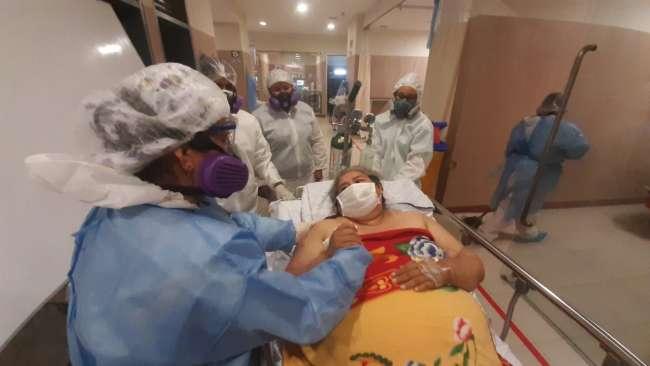 Paciente con obesidad sale de UCI Covid en hospital de Tarapoto