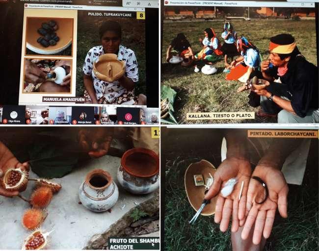 Presentan en conferencia virtual el arte de la Cerámica de Lamas – San Martín – Perú