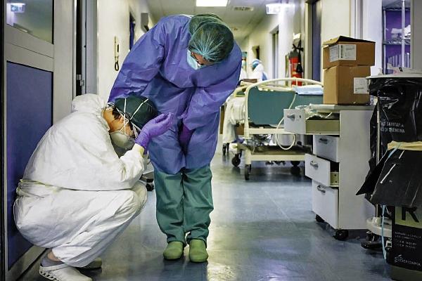 """Es importante tener más médicos en el centro de batalla"""""""