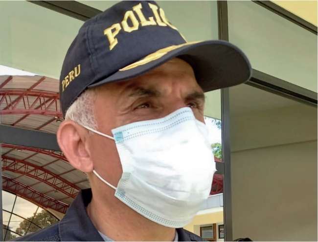 Ante alarmante incremento de la pandemia en San Martín.  Policía Nacional reitera NO REALIZAR actividades públicas y familiares. Se coordina en todos los niveles de la PNP con los alcaldes