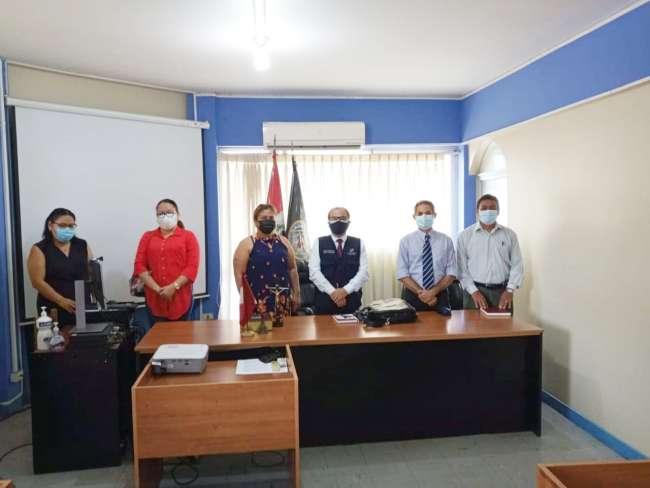 Titular de la Corte de San Martín sostuvo reunión con abogados de Tarapoto
