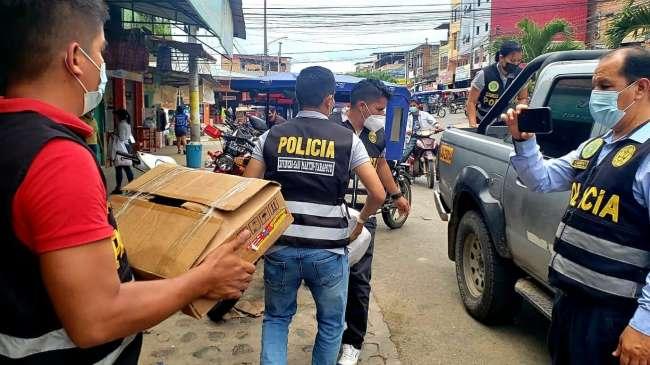 Realizan operativo en tiendas de abarrotes para prevenir delitos contra la salud pública
