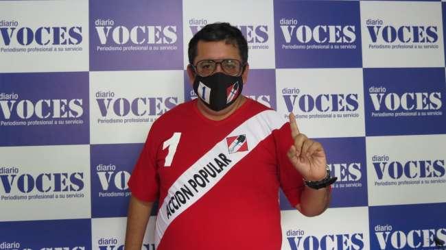Entrevista a Walter Huamán Arévalo, candidato por Acción Popular